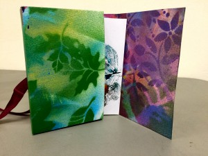 NBG Workshop: Book Arts Basics, Series 1: Folded Books @ On Zoom