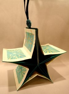 turquoise star by pat sheehan